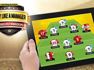 Bepaal je tactiek en kies je eigen Eredivisie elftal bij Play like a Manager!