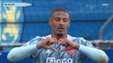 VIDEO GOAL: Haller schiet prachtig met de punt raak in Waalwijk (0-1)