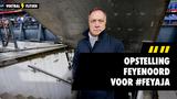 Opstelling Feyenoord voor de Klassieker tegen Ajax #FEYAJA