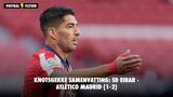 Knotsgekke samenvatting: SD Eibar - Atlético Madrid (1-2)