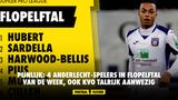 Pijnlijk: 4 Anderlecht-spelers in flopelftal van de week, ook KVO talrijk aanwezig
