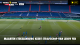 VIDEO: Maarten Stekelenburg pakt strafshop van Leroy Fer #FEYAJA