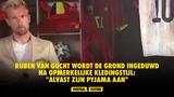 """Van Gucht belachelijk gemaakt na opvallende kledingstijl: """"Alvast zijn pyama aan"""""""
