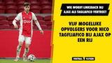 Vijf mogelijke opvolgers van Nico Tagliafico bij Ajax