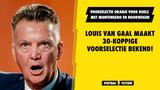 Dit is de 30-koppige voorselectie van Oranje voor de duels met Montenegro en Noorwegen