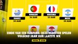 Einde van een tijdperk: deze vedetten spelen volgend jaar hun laatste WK
