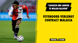 """Feyenoord verlengt contract Malacia: """"Logisch om langer te willen blijven"""""""
