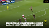 De mooiste goal bij Ajax - FC Groningen? Mazraoui scoort na prachtige assist Martínez