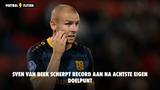 Sven van Beek recordhouder met nu 8 eigen doelpunten