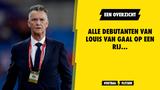 Een overzicht van spelers die Van Gaal liet debuteren bij Oranje