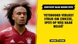 'Feyenoord verliest strijd om Zirkzee, spits op weg naar België'