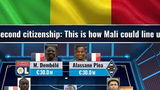 WOW! Zo kon het team van Mali er hebben uitgezien... ongelofelijk!