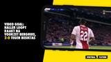 VIDEO GOAL: Haller loopt raakt na voorzet Berghuis, 2-0 tegen Besiktas