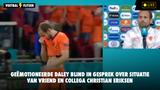Blind overwoog door Eriksen-drama niet in actie te komen