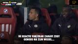 Reactie Eran Zahavi na zijn wissel bij #psvpec spreekt boekdelen... Israëliër duidelijk niet blij
