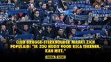"""Club Brugge-sterkhouder maakt zich populair: """"Ik zou nooit voor RSCA tekenen. Kan niet."""""""