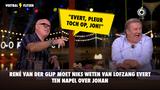 René van der Gijp hoort lofzang Evert ten Napel over Johan: 'Pleur toch op, joh!'