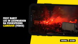 Feest barst los in Leeuwarden na 'promotie' Cambuur (VIDEO)