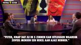 """""""Knap Peter (R. de Vries) dat jij in 5 zinnen kan uitleggen waarom zoveel mensen een hekel aan Ajax hebben"""""""