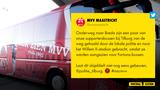 Politie Tilburg reageert op derucht dat MVV-bussen werden aangezien als die van Fortuna Sittard