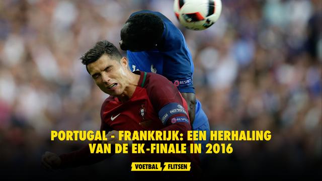 Portugal - Frankrijk herhaling EK-finale Euro 2016