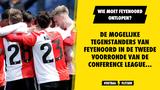 De mogelijke tegenstanders van Feyenoord in de tweede voorronde van de Conference League...
