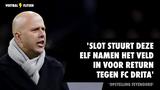 'Arne Slot stuurt deze elf namen het veld in voor return tegen FC Drita'
