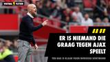 """Ten Hag blikt vooruit op clash met Dortmund: """"Er is niemand die graag tegen Ajax speelt"""""""