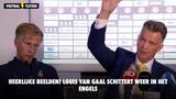 Heerlijke beelden! Louis van Gaal schittert weer in het Engels