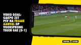 VIDEO GOAL: Gakpo zet PSV na fraaie aanval op voorsprong tegen GAE (0-1)