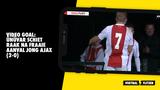 VIDEO GOAL: Ünüvar schiet raak na fraaie aanval Jong Ajax (2-0)