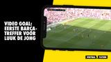 VIDEO GOAL: allereerste Barça-treffer voor Luuk de Jong
