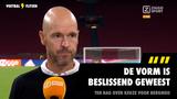 """Ten Hag over keuze voor Berghuis: """"De vorm is beslissend geweest"""""""