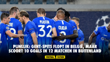 Pijnlijk: Gent-spits flopt in België, maar scoort 10 goals in 12 matchen in buitenland