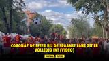 Corona? De sfeer bij de Spaanse fans zit er volledig in! (VIDEO)