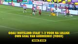 GOAL! Duitsland staat 1-2 voor na lullige own goal van Guerreiro! (VIDEO)