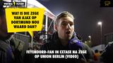 "Uitzinnige Feyenoord-fan jubelt na zege op Union Berlin: ""Wat is die zege van Ajax op Dortmund waard dan?"""