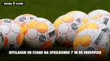 Uitslagen en stand na speelronde 7 in de Eredivisie