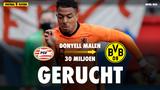 'Dortmund wil 30 miljoen euro neertellen voor Donyell Malen'