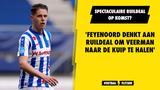 'Feyenoord denkt aan ruildeal met twee spelers om Joey Veerman naar De Kuip te halen'