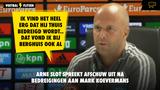 """Arne Slot spreekt afschuw uit na 'bedreigingen' aan adres Mark Koevermans: """"Zeer triest"""""""