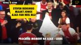 Prachtige beelden: Steven Berghuis maakte jonge Ajax-fan heel blij #ajalee