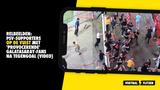 RELBEELDEN: PSV-supporters op de vuist met  'provocerende' Galatasaray-fans na tegengoal (VIDEO)