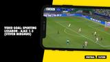VIDEO GOAL: Sporting Lissabon - Ajax 1-3 (Steven Berghuis)