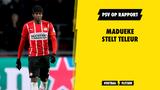 PSV op Rapport: Madueke stelt teleur