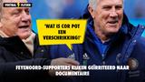 Feyenoord-supporters kijken geïrriteerd naar documentaire: 'Wat is Cor Pot een verschrikking!'