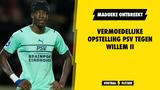 Vermoedelijke opstelling PSV: geen Götze en Madueke