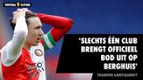'Slechts één club brengt officieel bod uit op Steven Berghuis'