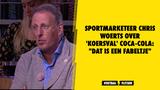 """Sportmarketeer Chris Woerts over 'koersval' Coca-Cola: """"Dat is een fabeltje"""""""