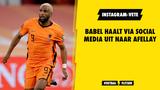 Babel haalt via social media uit naar Afellay